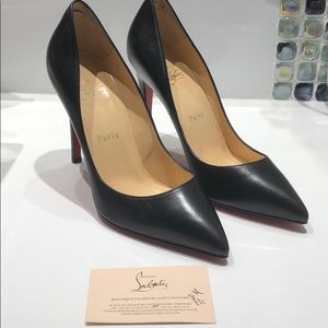 Christian louboutin pigalle 100 leather 37 1/2